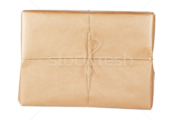 Brown package Stock photo © broker