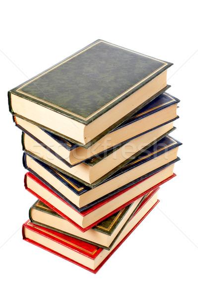 Books stack Stock photo © broker