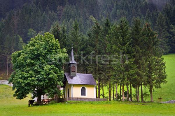The old chapel in Huttschlag, Austria Stock photo © broker