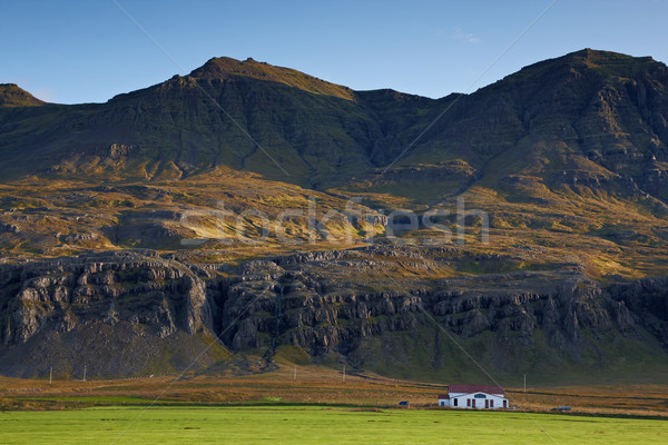 Landscape view in the east of Iceland Stock photo © broker