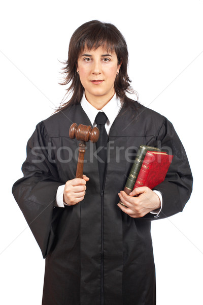 Stock photo: Female judge