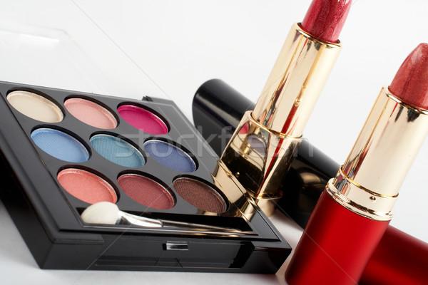Detail of assortment of makeups.  Macro shot Stock photo © broker