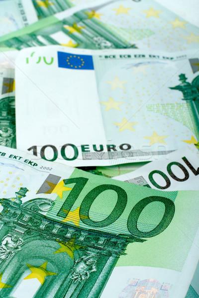 Euro soldi carta finanziare banca mercato Foto d'archivio © broker