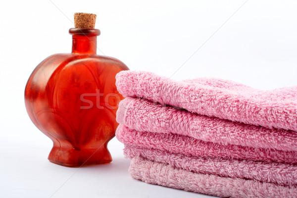 タオル 香り ボトル 白 健康 リラックス ストックフォト © broker