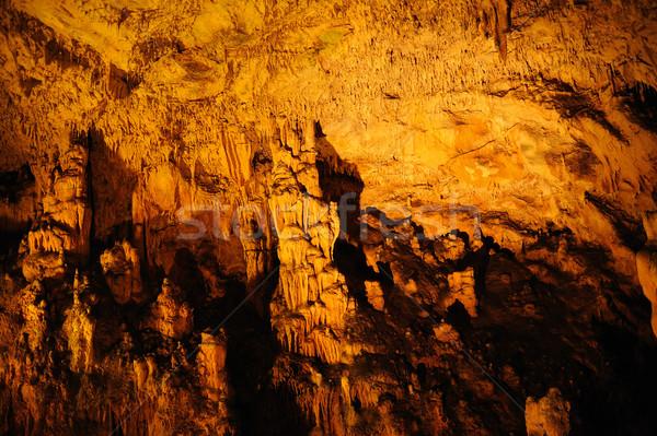 Biserujka cave, Krk island, Croatia Stock photo © brozova
