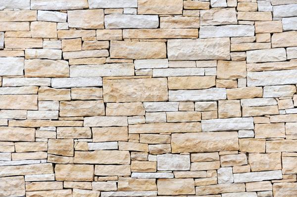Muro arenaria mattoni sfondo texture mattone Foto d'archivio © brozova