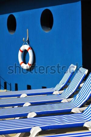 Riposo luogo resort spiaggia casa costruzione Foto d'archivio © brozova