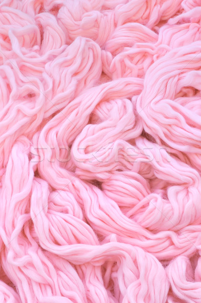 Stock photo: Detail of dyed wool  - background