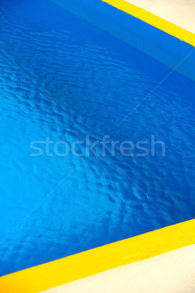Stock photo: Detail of swimming pool, abstract background