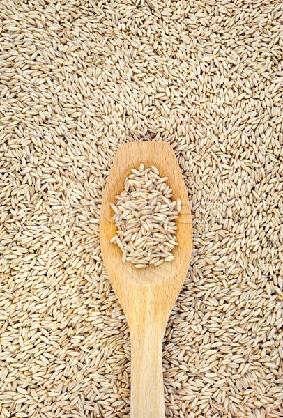 Stock fotó: Fakanál · aszalt · csoport · kukorica · növények · minta