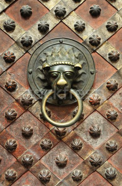 Saint Vitus Cathedral  Prague, Prague castle, Czech Republic, interior - Wenceslas Stock photo © brozova