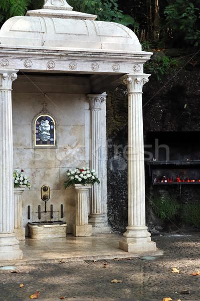 The Largo da Fonte,  Fountain of the Virgin, Monte, Madeira, Portugal Stock photo © brozova