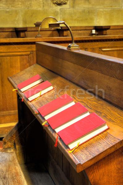 Coro capilla libro Biblia castillo vida Foto stock © brozova