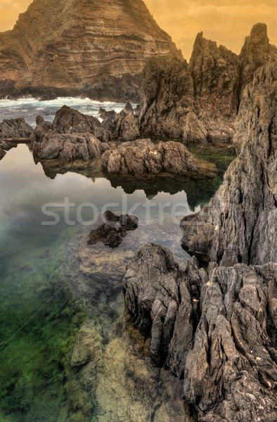 Stockfoto: Natuurlijke · madeira · eiland · Portugal · zee · oceaan