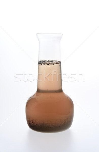 Sample of dirty water isolated on white background Stock photo © brozova