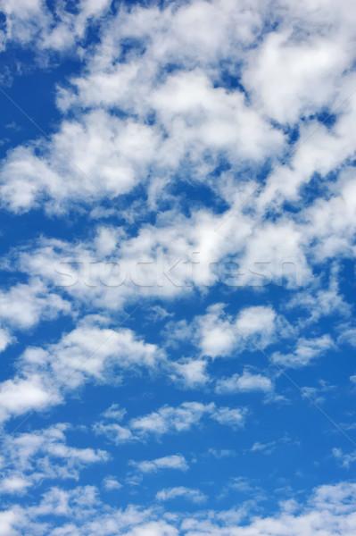 Felhőkép égbolt felhők természet háttér nyár Stock fotó © brozova