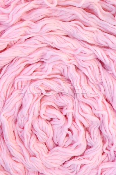 Detail gefärbt Wolle Textur Hintergrund Gruppe Stock foto © brozova