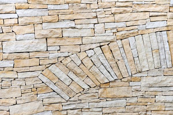 Pared arenisca ladrillos fondo texturas ladrillo Foto stock © brozova