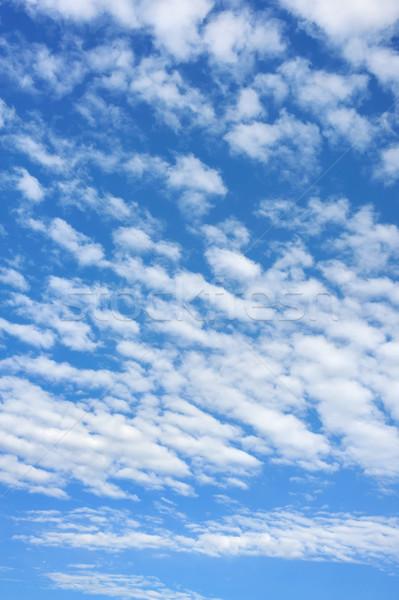 Cielo nubi natura sfondo estate Foto d'archivio © brozova
