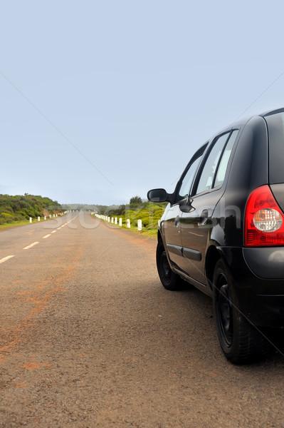 автомобилей дороги плато природного мадера острове Сток-фото © brozova