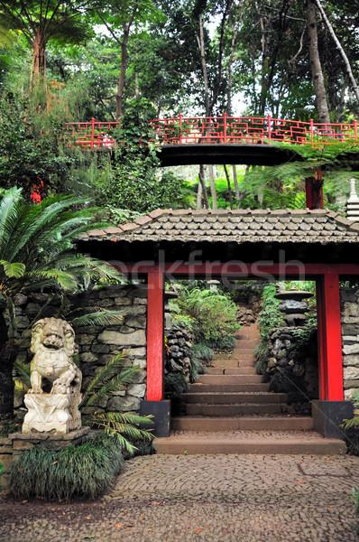 Monte Palace Tropical Garden, Madeira, Portugal Stock photo © brozova