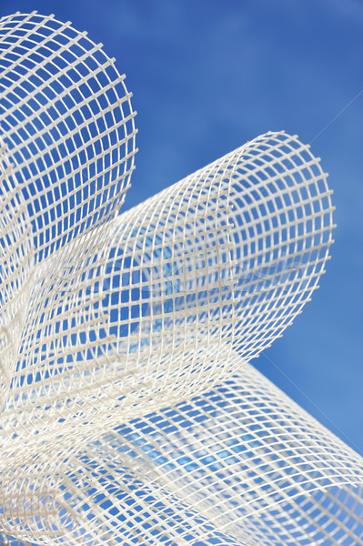 Detail of glass-fiber mesh  Stock photo © brozova