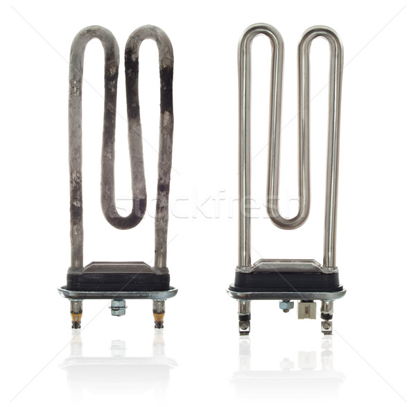 Good and bad heating elements for washing machine Stock photo © brulove