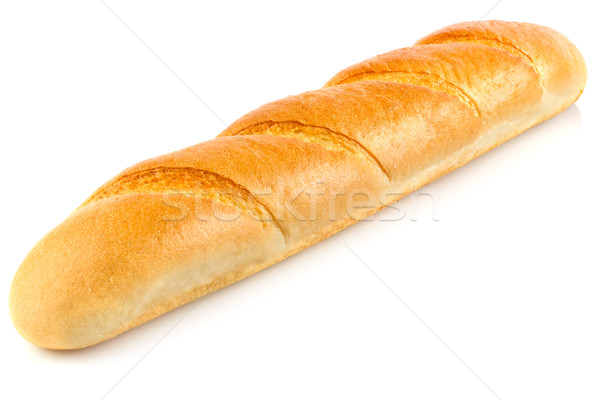 Fresh aromatic organic baguette. Stock photo © brulove