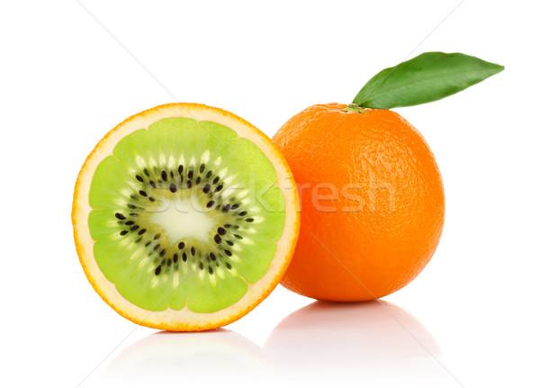 Stock photo: creative conception of orange and