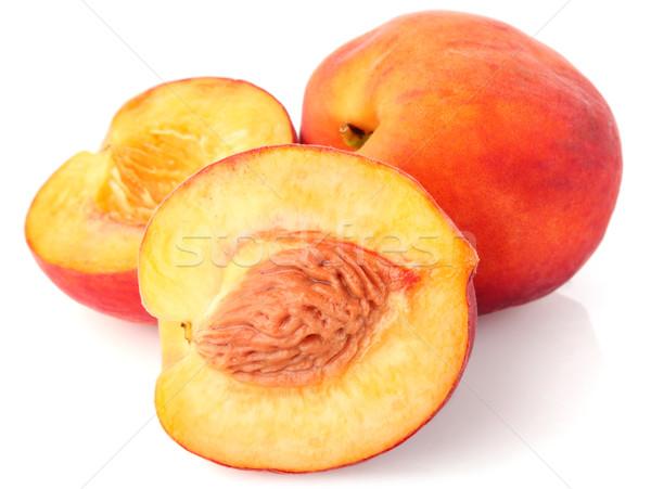 ripe juicy peach Stock photo © brulove