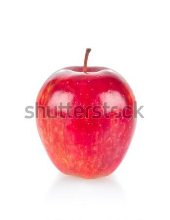 Maturo succosa mela isolato bianco alimentare Foto d'archivio © brulove