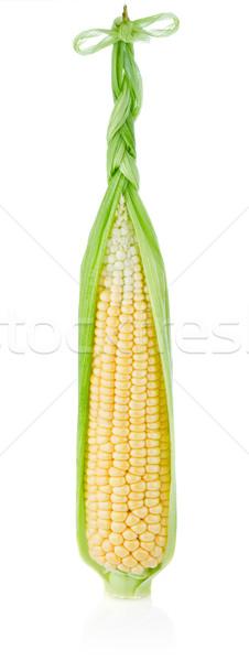 Vers mais geïsoleerd witte gezondheid achtergrond Stockfoto © brulove