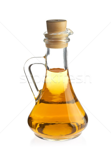 Decanter with organic apple vinegar  Stock photo © brulove
