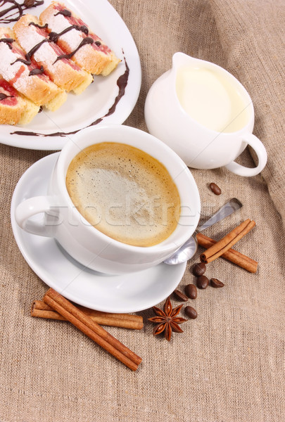 coffee with cream Stock photo © brulove