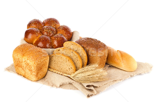 Still life of fresh baked goods and ear, Stock photo © brulove