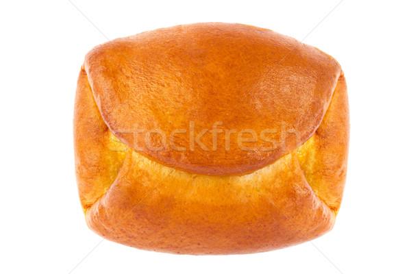 Fraîches chignon confiture isolé blanche Photo stock © brulove