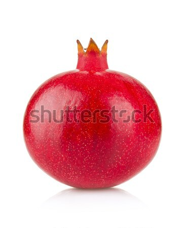 Fresh ripe royal pomegranate Stock photo © brulove