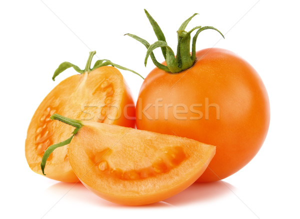 ripe juicy orange tomatos Stock photo © brulove