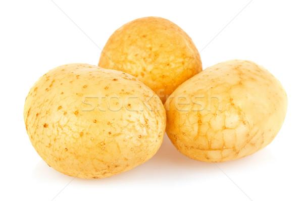 New fresh raw organic potatoes Stock photo © brulove