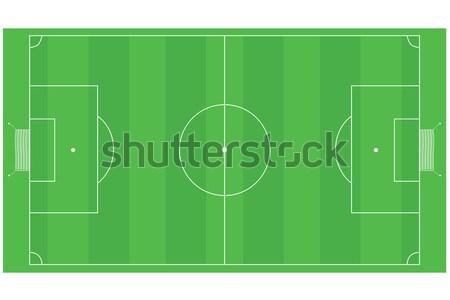 Football (Soccer) field Stock photo © bruno1998