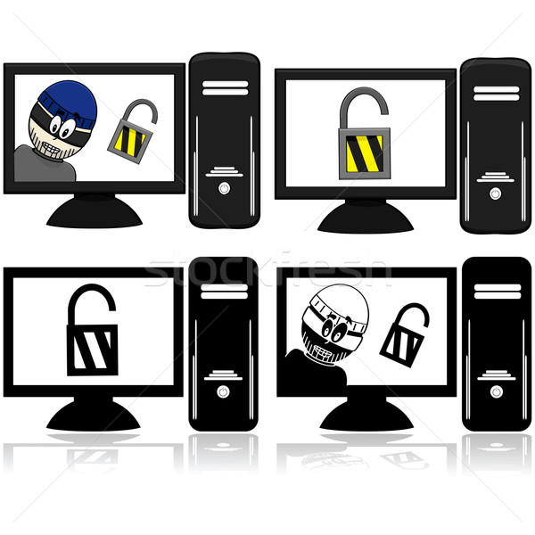 Computer security Stock photo © bruno1998