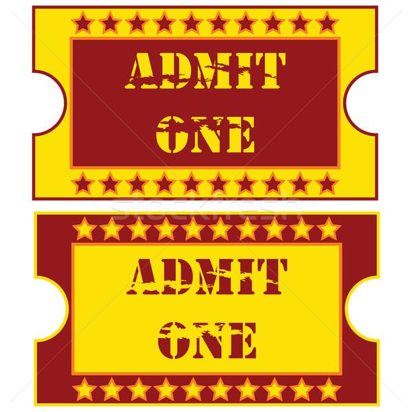 Tickets Stock photo © bruno1998
