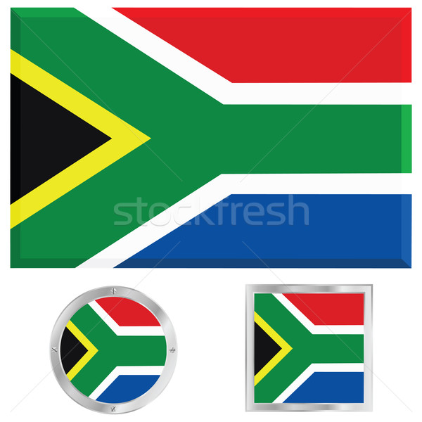 South Africa flag Stock photo © bruno1998