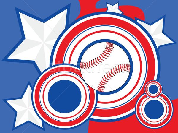 USA Baseball background Stock photo © bruno1998