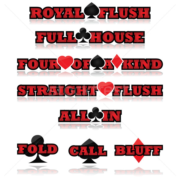 Poker expressions Stock photo © bruno1998