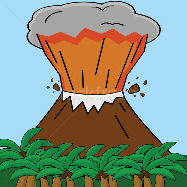 Volcano Stock photo © bruno1998