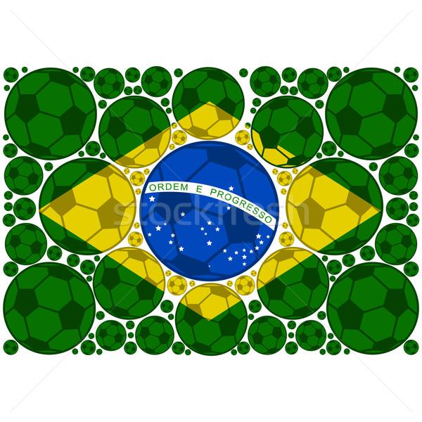 ブラジル 実例 フラグ アップ ストックフォト © bruno1998