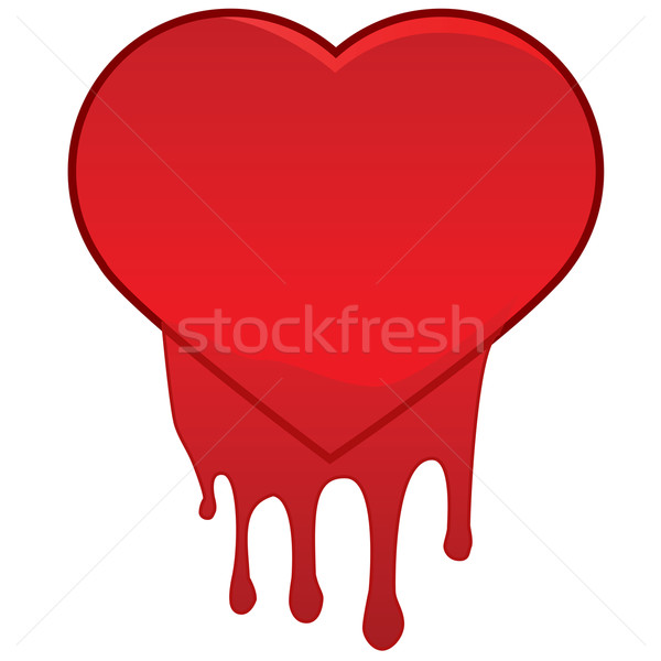 Heart bleeding Stock photo © bruno1998
