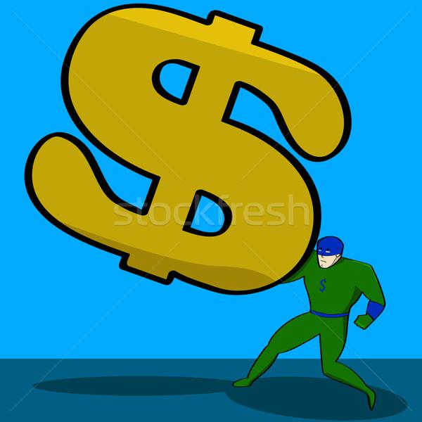 Financial burden Stock photo © bruno1998
