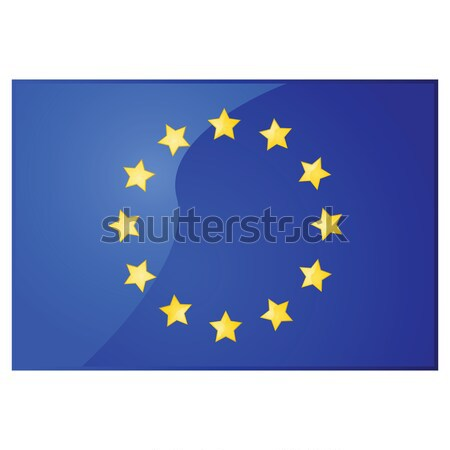 European Union flag Stock photo © bruno1998